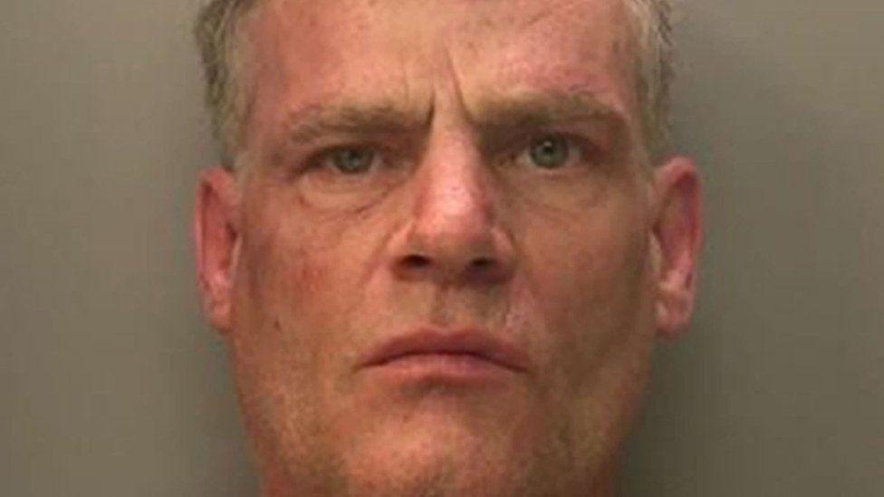 Vincent Fuller's police mugshot