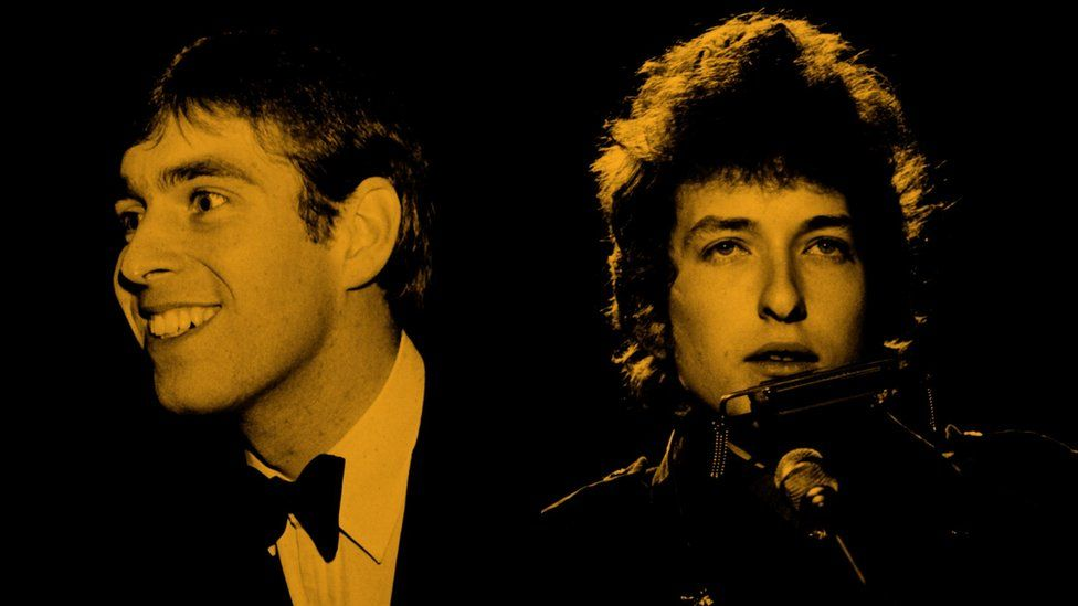 Prince Andrew and Bob Dylan