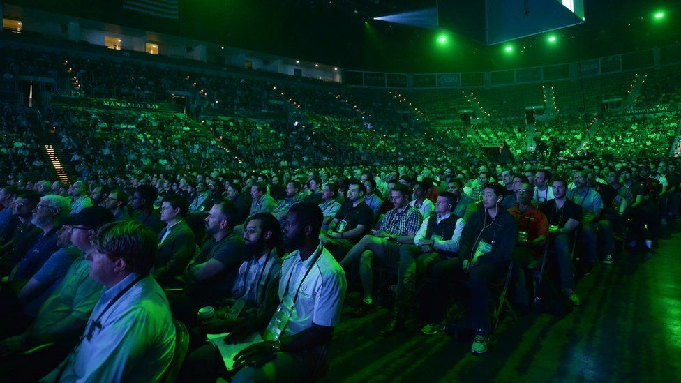 Black Hat keynote audience