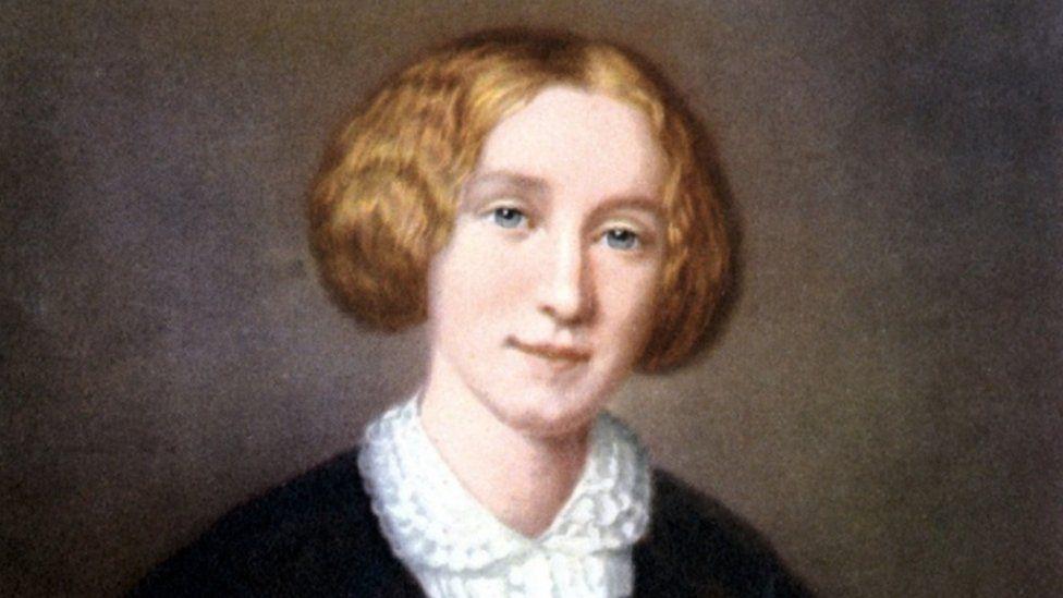 George Eliot portrait by François D'Albert Durade