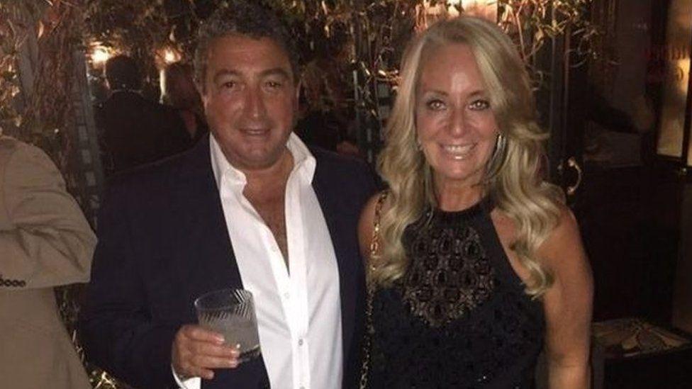 Howard Grossman and wife