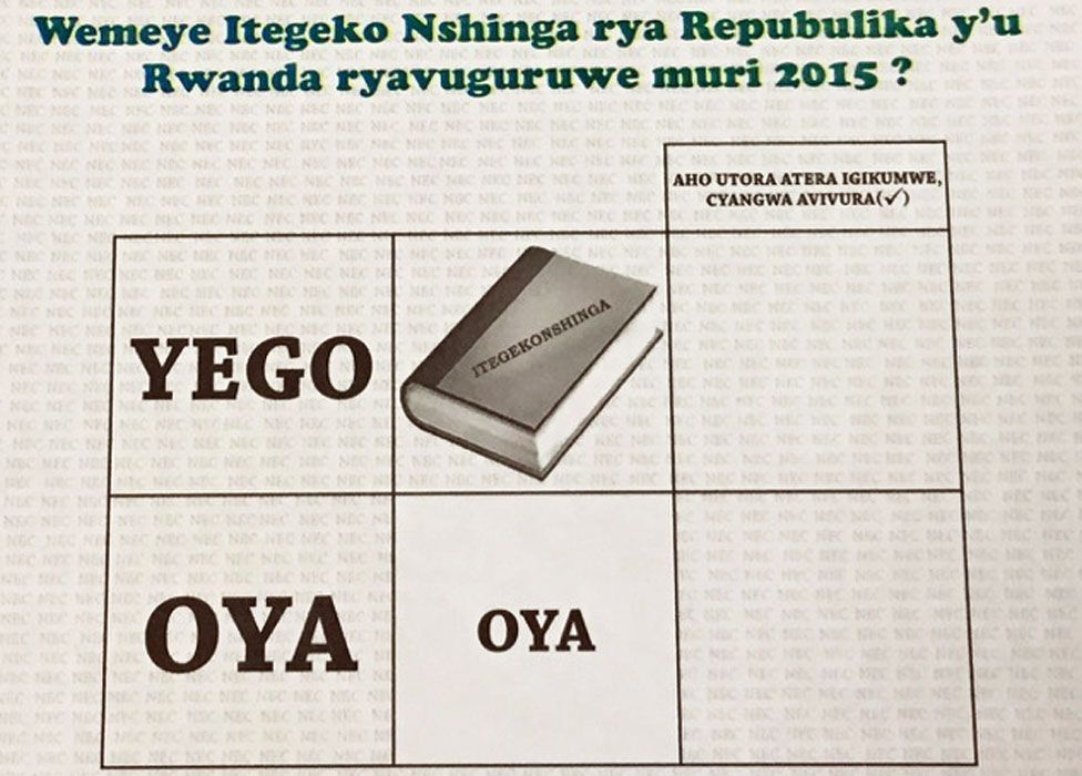 """""""Yego"""" means yes and """"oya"""" no"""