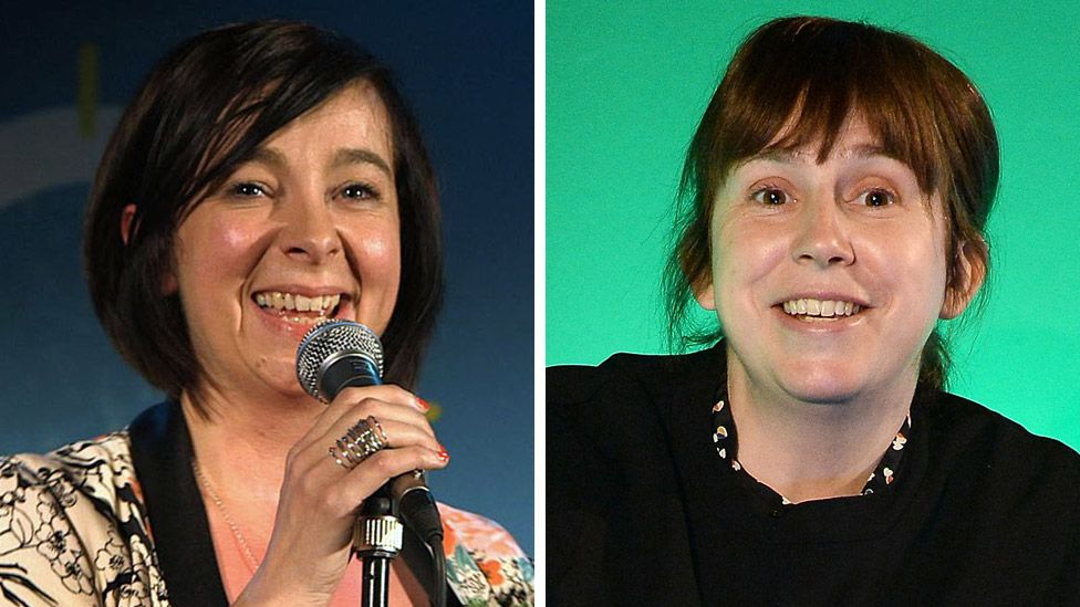 Director Vicky Featherstone (left) and writer Abi Morgan