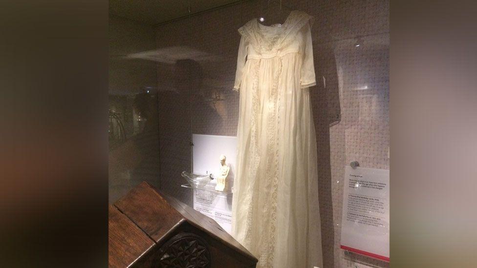 Queen Mother's christening gown