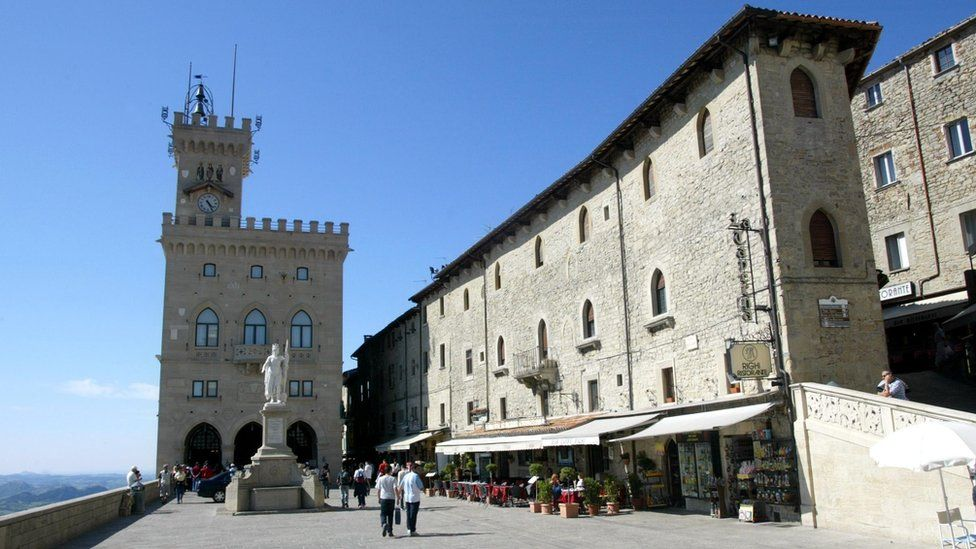 Palace of the Governor in San Marino