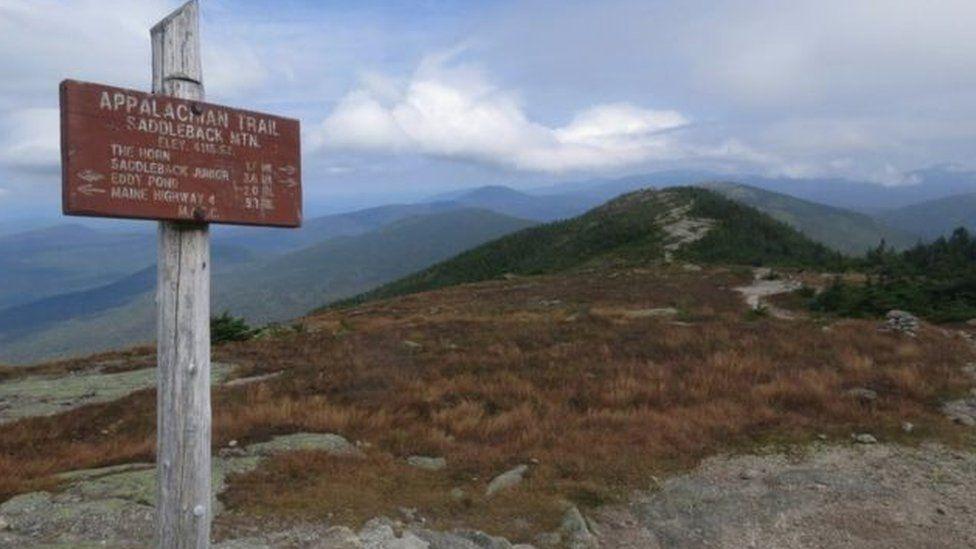 Saddleback mountain on the Appalachian Trail (file photo)