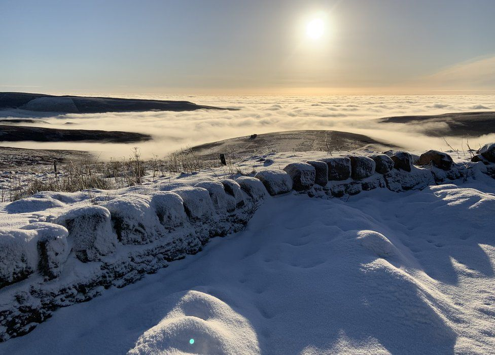 The top of the Cairn o' Mount (B974) road between Banchory and Fettercairn