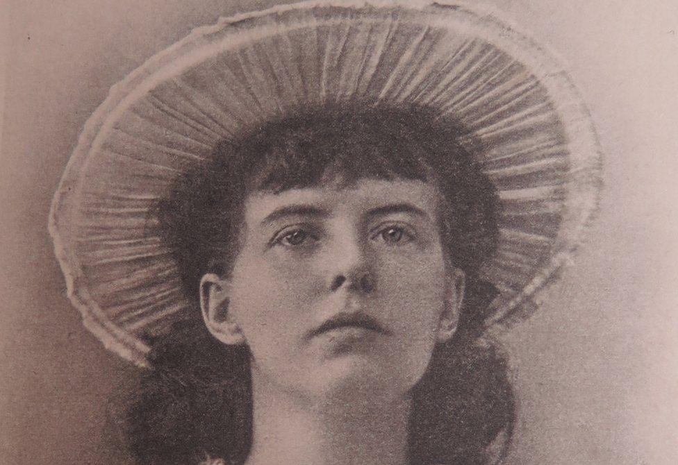 A portrait of Violet Nicholson