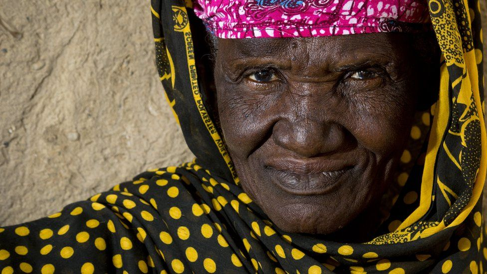 An old woman in Mali