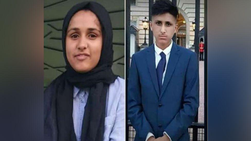 Malika and Haider Shamas