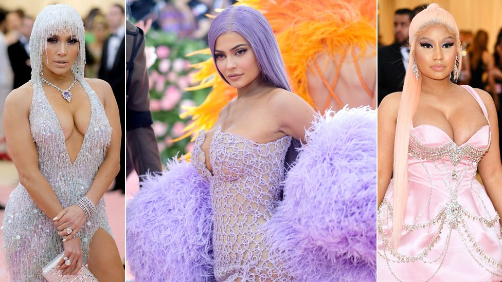 Jennifer Lopez, Kylie Jenner and Nicki Minaj