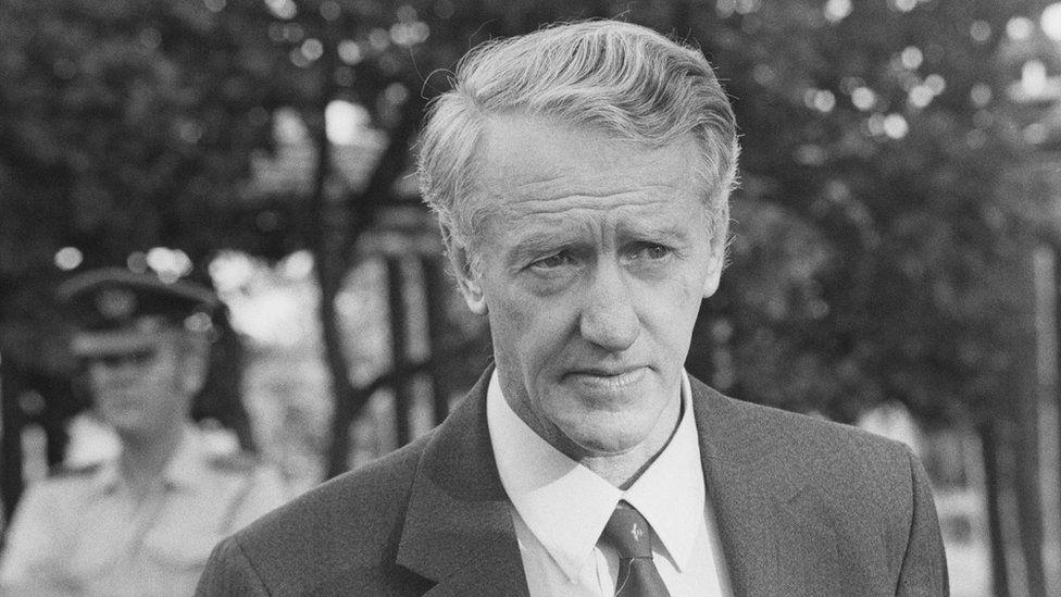 Rhodesian Prime Minister Ian Smith