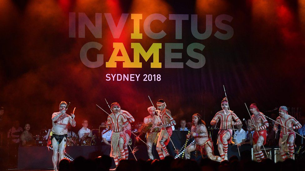 Opening ceremony for Invictus Games