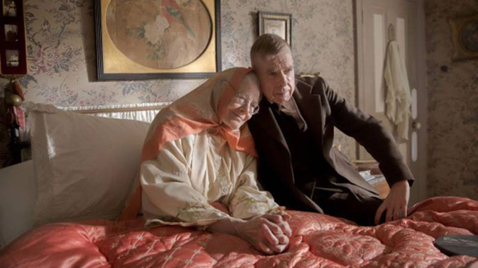 Vanessa Redgrave and Timothy Spall in Mrs Lowry & Son