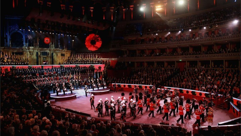 Royal Festival of Remembrance at the Royal Albert Hall