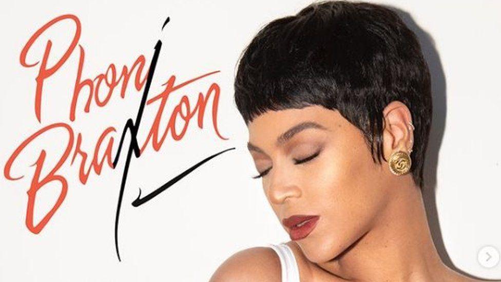 Beyonce Recreates Toni Braxton Album Cover For Halloween Bbc News