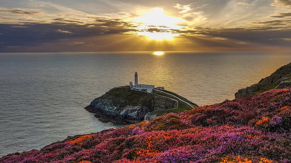 Light and colour at South Stack on Anglesey, by @sian_monument