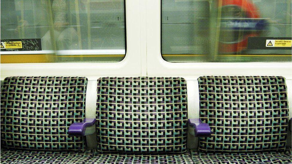 Seats on the Tube