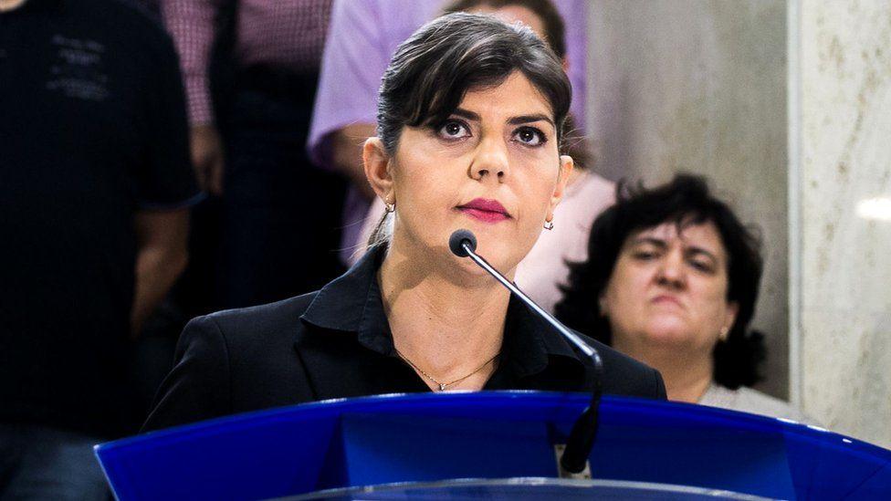 EU backs Romania's corruption fighter as new chief prosecutor