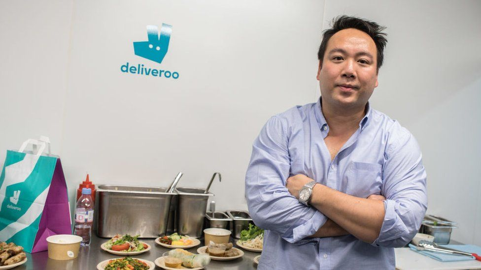 Deliveroo's Will Shu