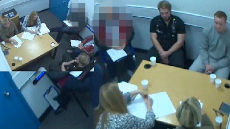 Police interview with Carl Langdell