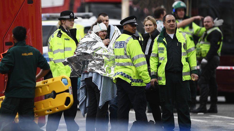 Injured after Westminster Attack