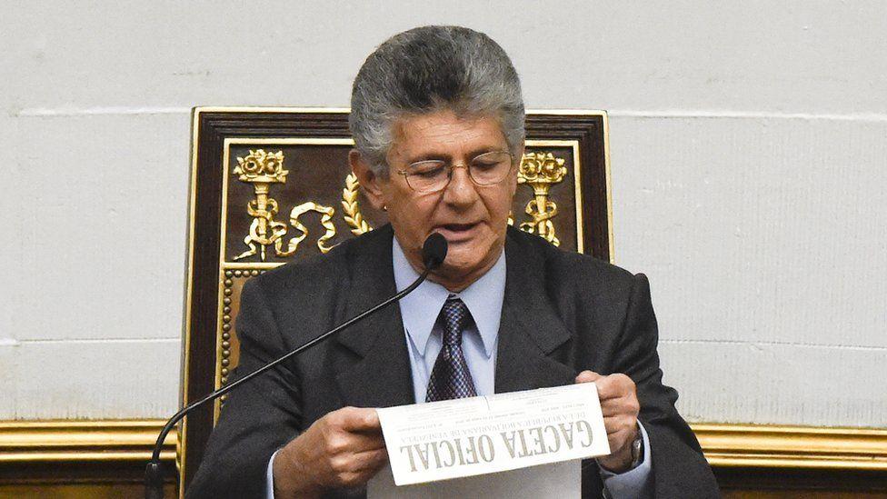 Venezuelan Speaker Henry Ramos Allup