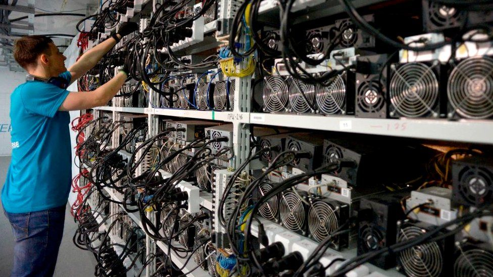 Russian cryptocurrency mining centre