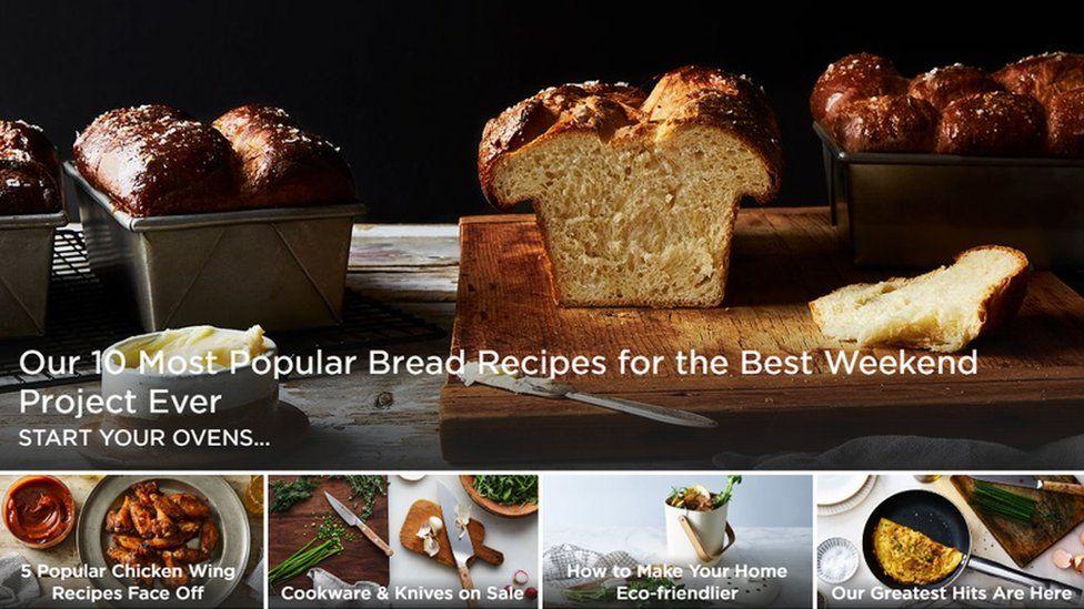 Food52's website