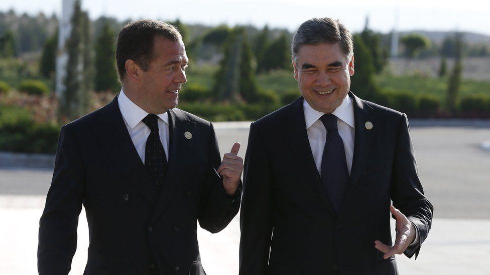 Turkmenistan President Berdymukhamedov reappears after death rumours
