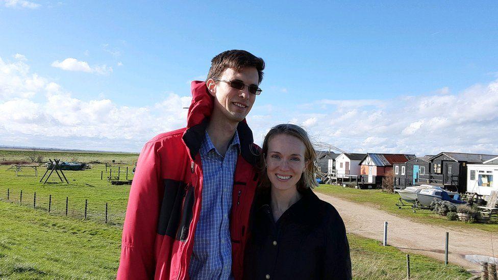 Tatiana and husband
