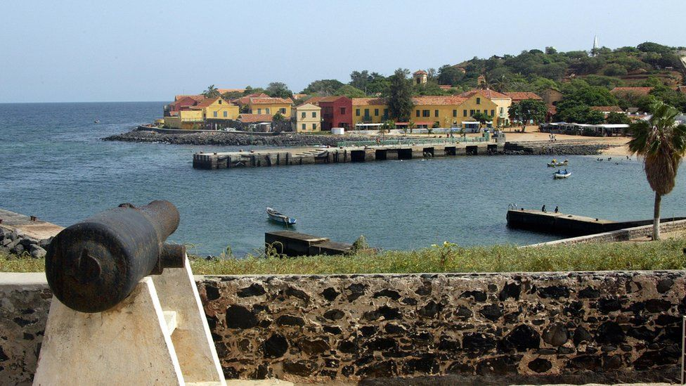 Slave trading centre of Goree, Senegal