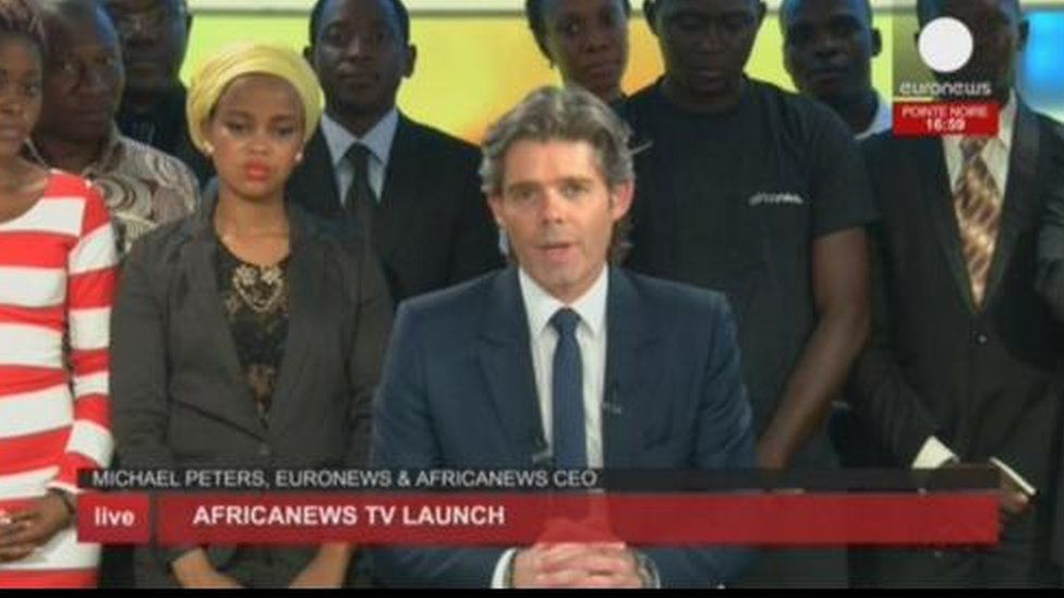 Michael Peters CEO Africa News and CEO of Euronews