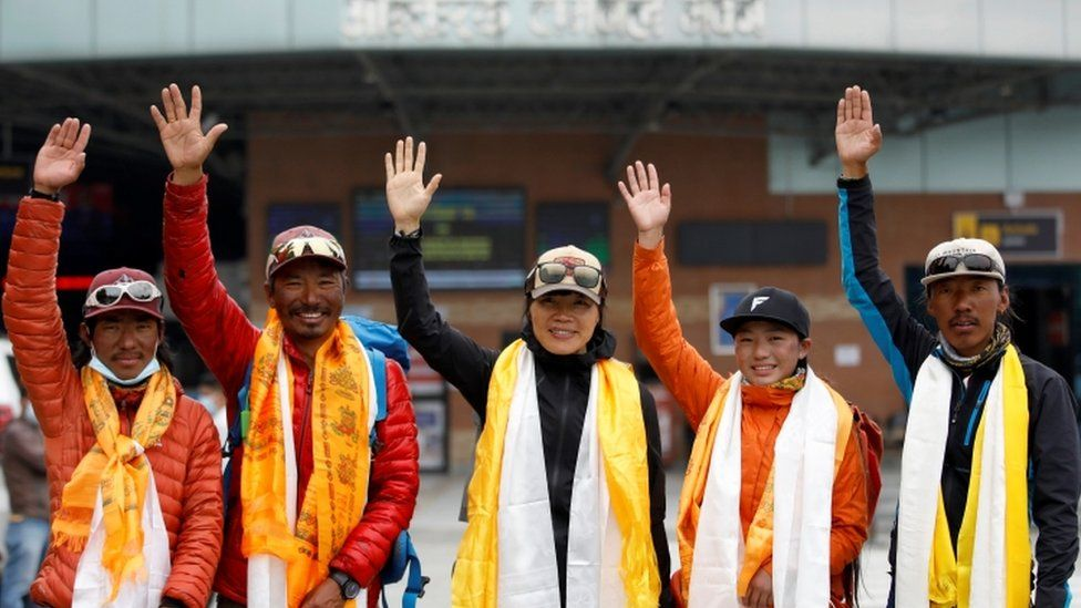 Tsang Yin-Hung, 45, who scaled Mount Everest in less than 26 hours
