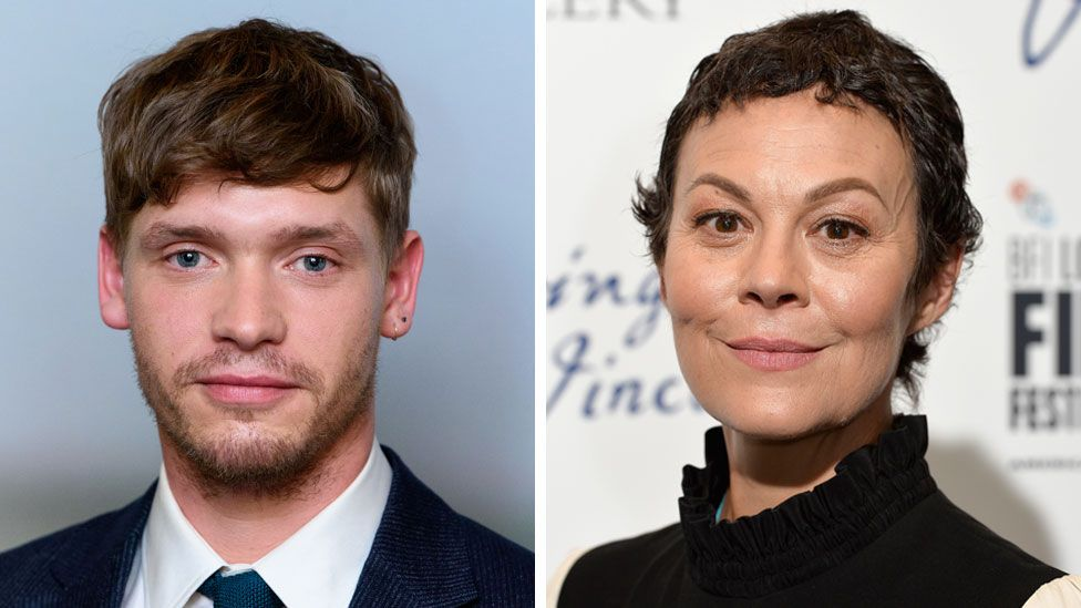 Billy Howle and Helen McCrory