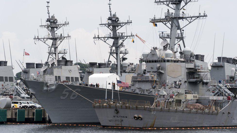 USS John McCain in Yokosuka