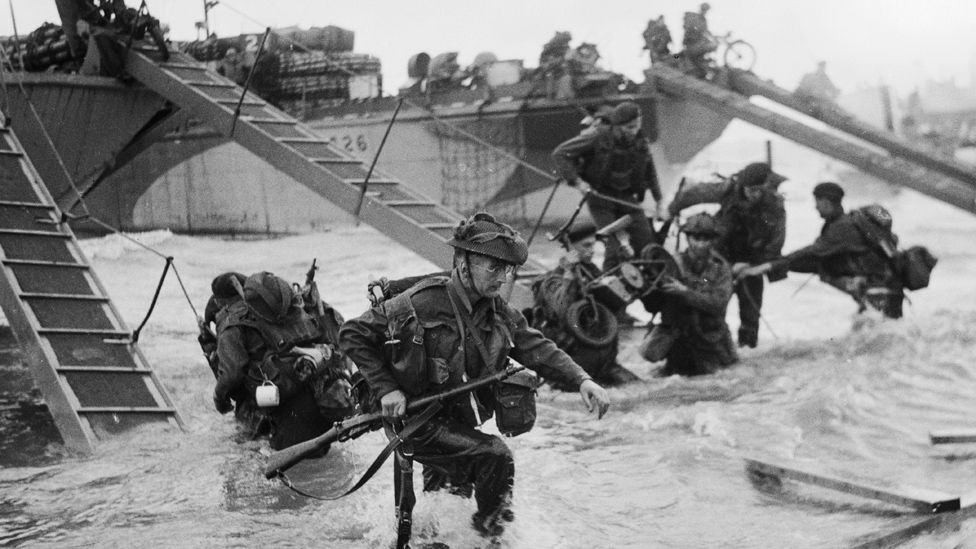 UK troops on D-Day