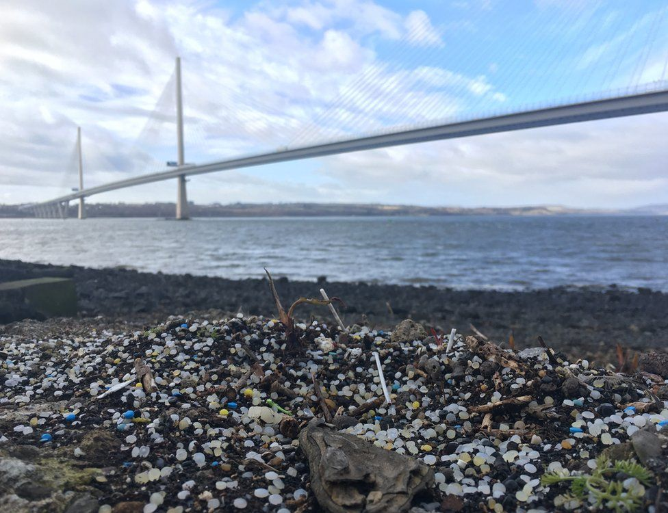 The beach at North Queensferry