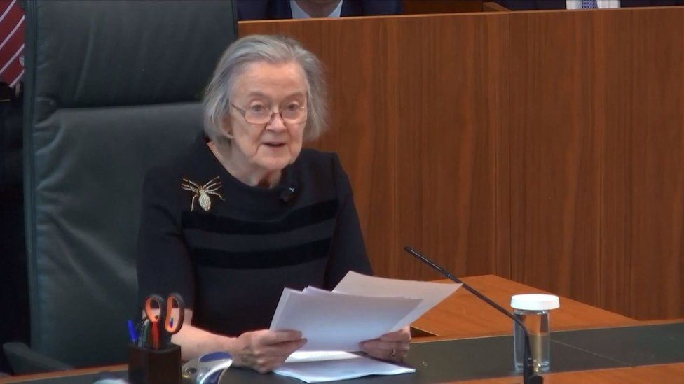 President of The Supreme Court, Justice Lady Brenda Hale