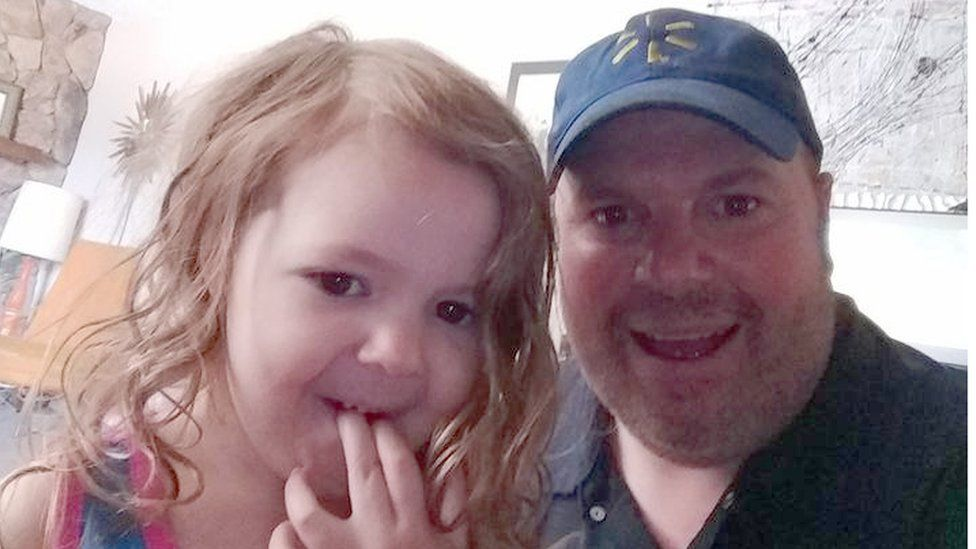 Gary Forester and his granddaughter, Yvette
