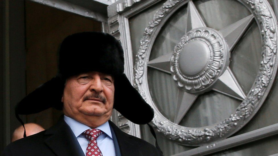 haftar in Moscow