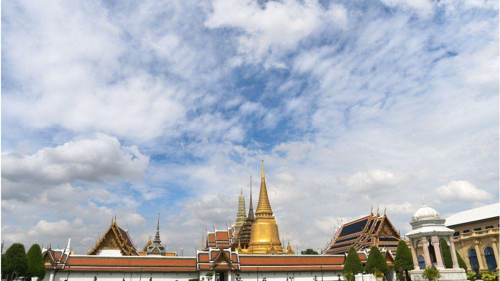 The Temple of the Emerald Buddha in Bangkok