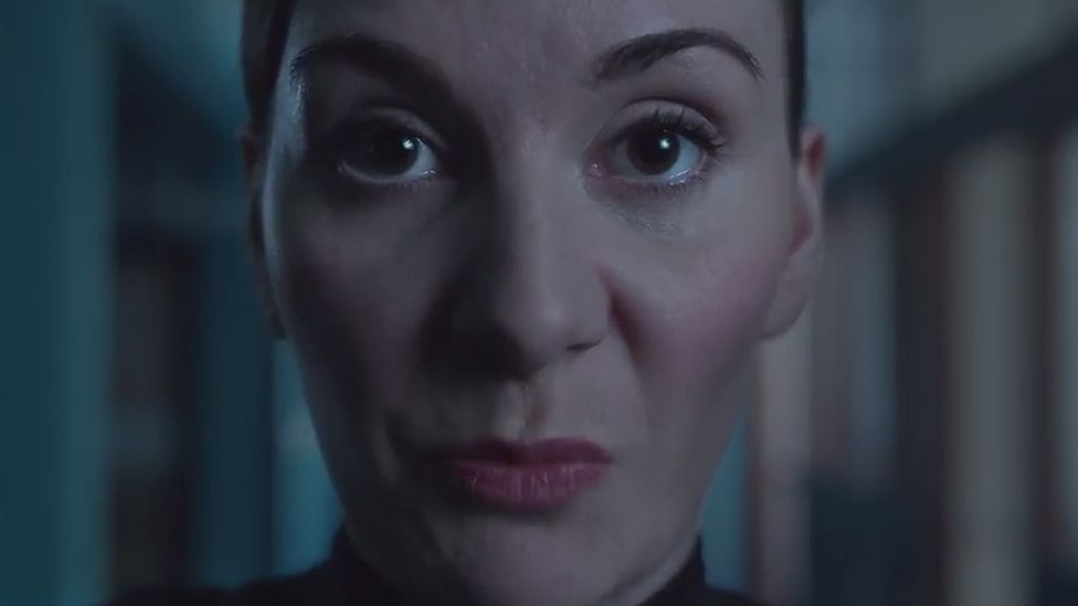 Police officer in domestic abuse online campaign