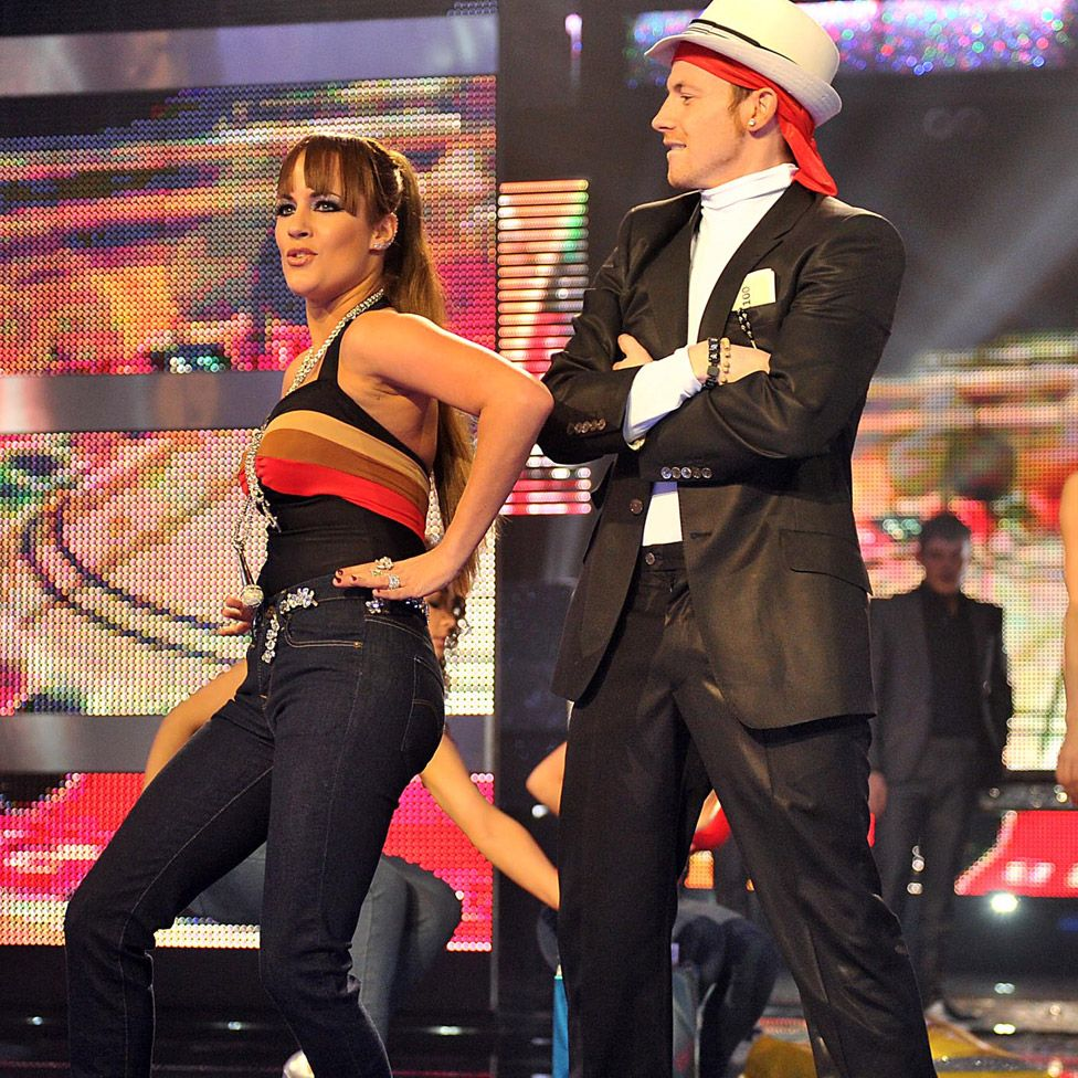 With Joe Swash on Let's Dance for... Comic Relief 2011