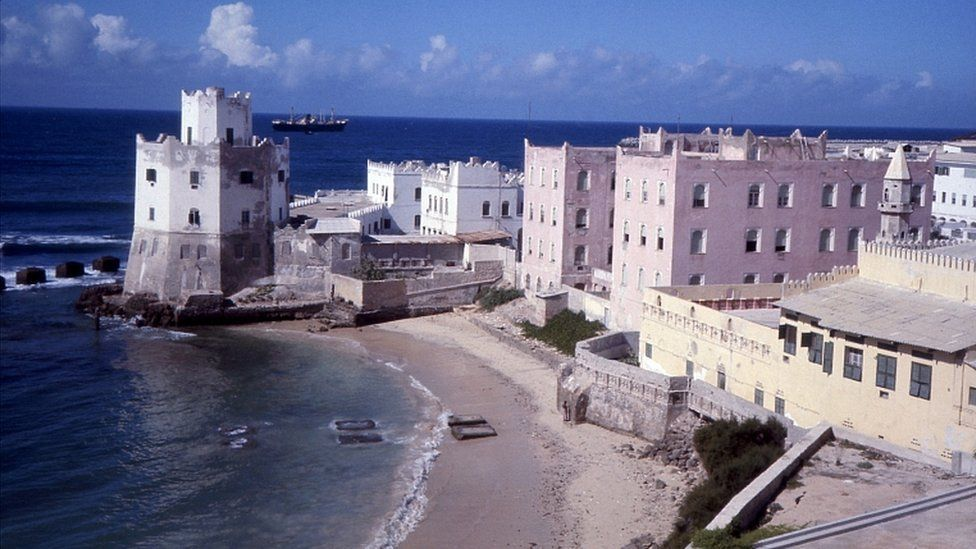 Mogadishu beach front