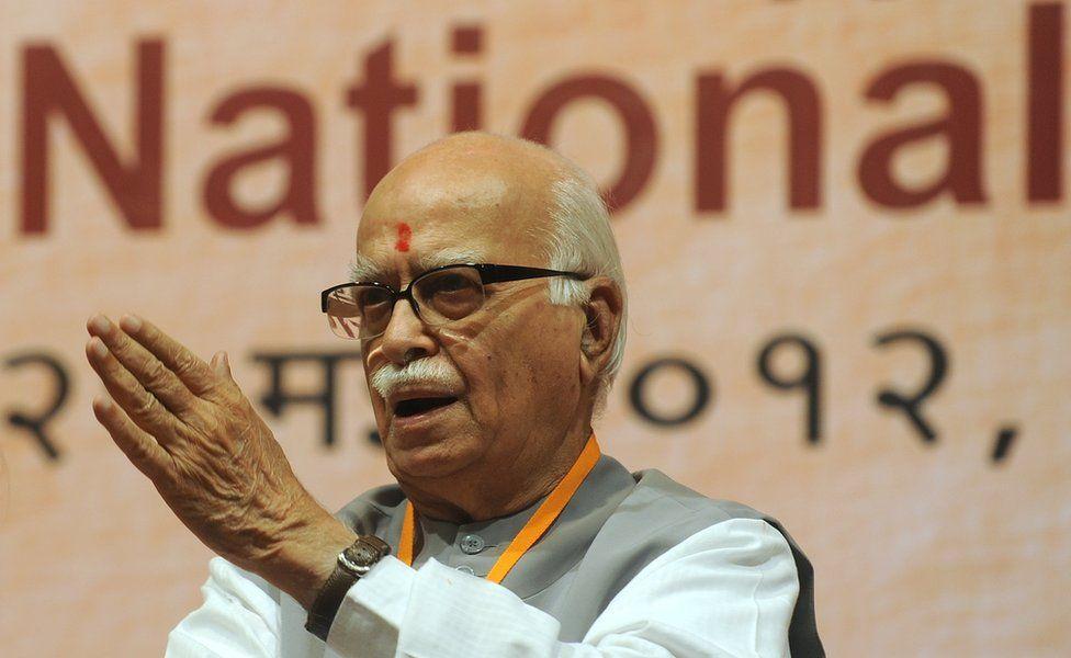 Former BJP chief Lal Krishna Advani