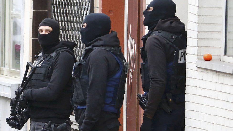 Belgian anti-terror police, Dec 2015 pic