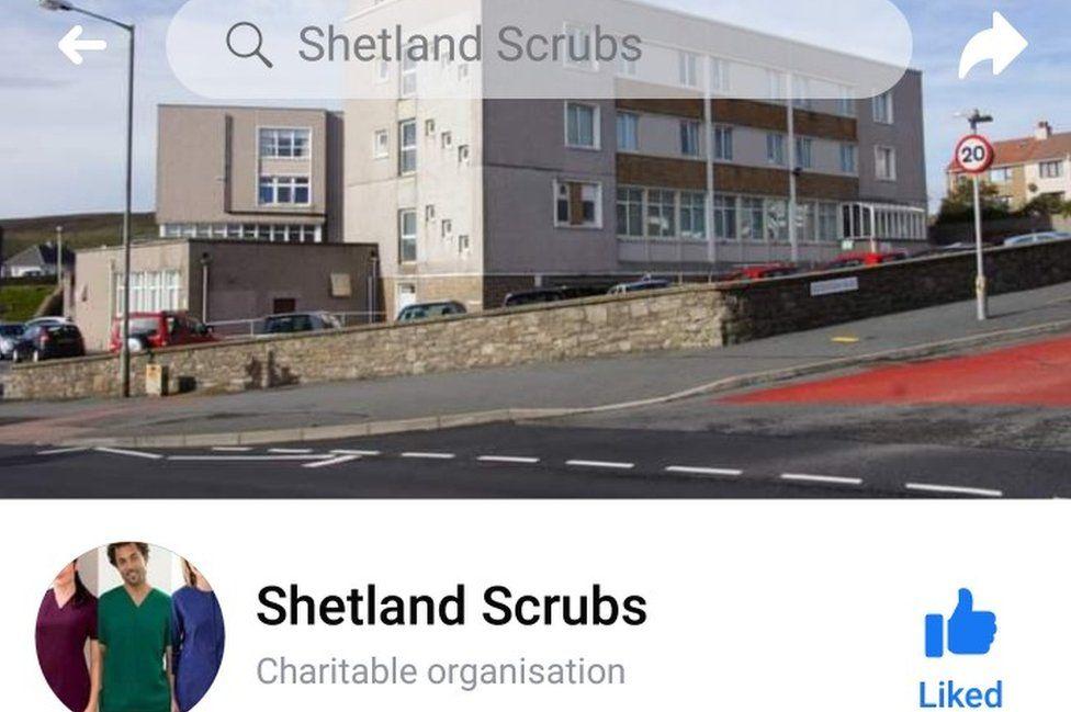 Shegetland scrubs fb page