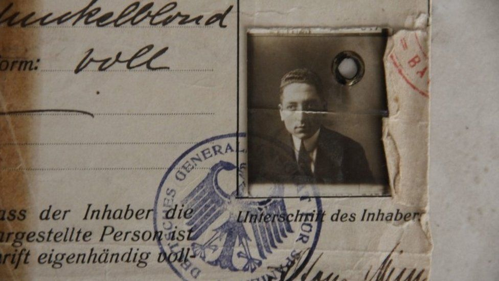 Documents belonging to Paul Alexander's father Alfons