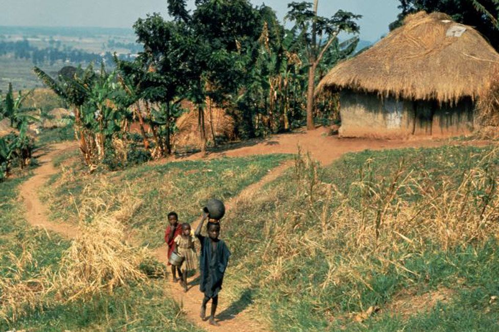 Children in rural Burundi